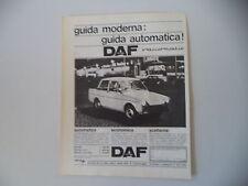 advertising Pubblicità 1965 DAFFODIL DAF FODIL 750