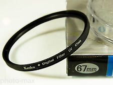 Kenko 67mm UV Digital Filter Lens Protection for 67mm filter thread - UK Stock