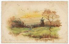 The Mill on the Moor, Raphael Tuck postcard