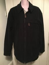 Mens Marks And Spencer Bomber Style Cotton Padded Jacket Size L Zip Front