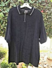 BLACK VELOUR PULLOVER SWEATER by BUGLE BOY