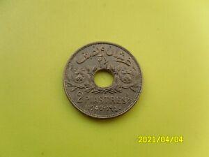 SYRIA - 2 & 1/2 PIASTRES 1940