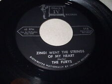 THE FURYS Zing! Went the Strings of My Heart/Never More 45 Mark IV Soul Doo Wop