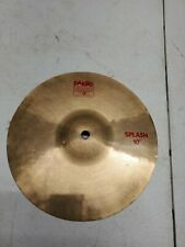 "Paiste 2002 Splash 10"" Cymbal"