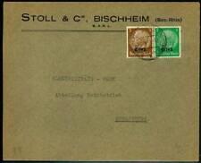 182409) dt. Bes. Elsass 2.WK Blg. mit Stpl. Bischheim