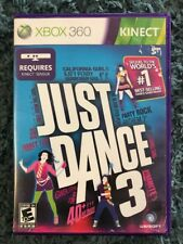 Just Dance 3 Xbox 360 Kinect Rated E 10+ Ubisoft Used