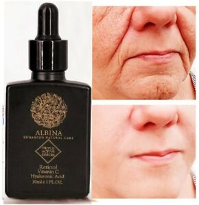30ml ALBINA Retinol + Hyaluronic Acid + Vitamin C Face Serum  Anti Ageing
