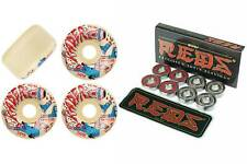 Spitfire Skateboard Wheels Formula Four Kader 54mm Neckface Bones Reds Bearings