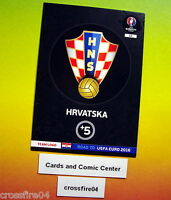 Panini Adrenalyn Road to UEFA EURO 2016 Limited,1-2-3, Team Logos, Badges,Wappen