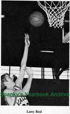 1970s Boston Celtics ISU Sycamores Larry Bird High School Yearbook~Basketball~++
