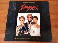 DANGEROUS LIAISONS - 1989 Vinyl 33rpm Original Motion Picture Soundtrack LP