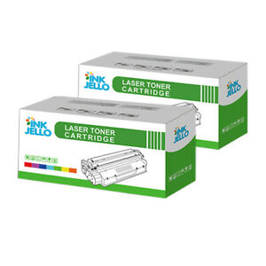 2 Black Toner Cartridge For Kyocera TK1115 FS-1041 FS-1220MFP FS-1320MFP