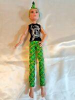 Monster High Doll Deuce Gorgon Boy Doll Dressed Scaris City of Frights 1ST Wave