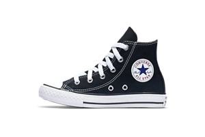 Converse Youth Chuck Taylor All Star HI Shoes NEW AUTHENTIC Black 3J231