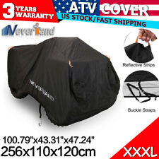 3XL Waterproof Utility ATV Cover Fit Polaris Honda Yamaha Can-Am Suzuki Kawasaki