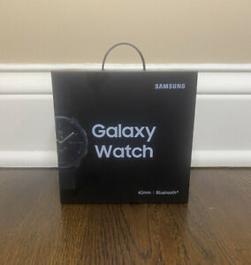 Samsung Galaxy Watch Smartwatch 42mm Bluetooth Midnight Black (BRAND NEW SEALED)