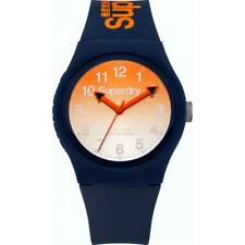 Superdry Men's Analogue Quartz Watch With Silicone Strap SYG198UO