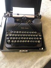 Vintage Smith Corona Silent Manual Portable Typewriter with  Black Case