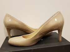 Hobbs nude patent leather Elizabeth Court shoes size 40