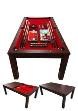 7FT POOL TABLE Model VULCAN Snooker Full Accessories BECOME A BEAUTIFUL TABLE