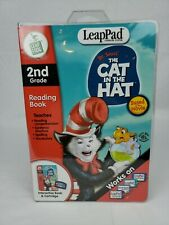 """Leapfrog leappad learning system reading book Dr Suess """"the cat in the hat"""" 2nd"""