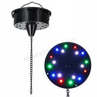 "6RPM RGB Light Rotating Motor 18 LED For Mirror Disco Ball 6"" 8"" 12"" DJ Party"