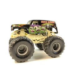 Hot Wheels Monster Jam Grave Digger 20th Anniversary Thailand Mattel 1:64 Loose