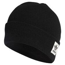 Toddler Winter adidas Originals Logo Beanie Kids Warm Black Hat