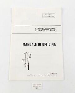 1987 MOTO GUZZI 850-T5 WORKSHOP MANUAL BOOK 28920100
