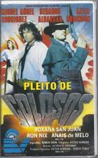 VHS:  PLEITO DE COLOSOS.....MIGUEL ANGEL RODRIGUEZ-AZELA ROBINSON......ESPANOL