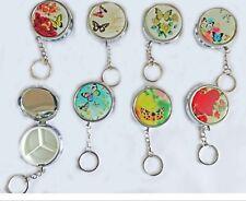 Butterfly w/keychain Metal Pill Box  Organizer  Jewellery Storage Travel 1 OR 2