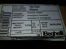 Beghelli Präzisa T92120S Dispo Notstrom Lampe mit EVG Modul ECSLEB 5-14W NEU OVP