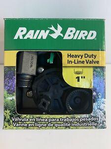 "Rain Bird In-Line Automatic Sprinkler Valve, 1"" Threaded Female x Female"