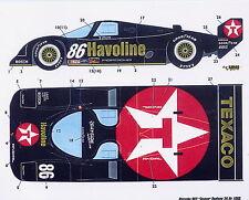 1/24 Porsche 962 Texaco decal 1990 /Tamiya/F1