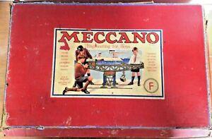 1930's Meccano F Building Set