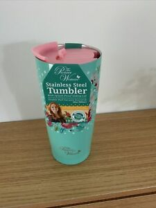 *PIONEER WOMAN* Stainless Steel Insulated Tumbler -Lid/Hot & Cold / Pale Green