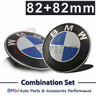 BMW E32 E36 E38 E60 E61 F01 F02 Blue Front Rear Hood Trunk Emblem Badge Logo