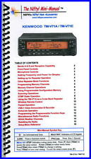 Kenwood TM-V71A /E Mini-Manual by Nifty Accessories