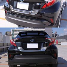SUS304 Stainless Steel Rear Trunk Lid Trim Cover Lower For Toyota C-HR CHR 2017