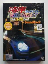 Anime DVD Wangan Midnight Vol. 1-26 End + Soundtrack CD ENG SUB All Region