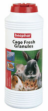 Beaphar Cage Fresh Granules Small Animal Hutch Granules Hamster Rabbit Rat 600g