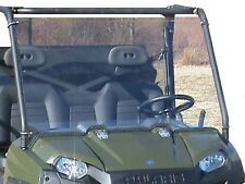 """2016-18 Polaris Ranger 570 Full Size Clear Full Front Windshield. 1/4"""" THICK!"""
