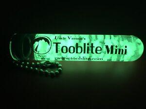 """3"""" UV PAQLITE TOOBLITE Glow In The Dark Strontium Aluminate Survival Light Tube"""
