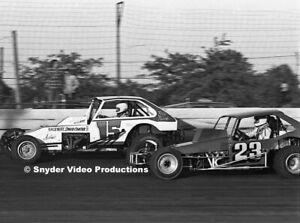Billy Pauch & Glenn Fitzcharles at Flemington Fair Speedway Photo