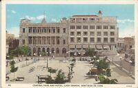 SANTIAGO DE CUBA - Central Park & Hotel, Casa Granda - 1937 - ARCHITECTURE