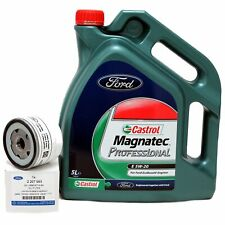 Ford Castrol Magnatec Professional 5W-20 Huile 5 Litre 5W20 + Filtre à 2207993