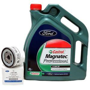 Ford Castrol Magnatec Professional 5W-20 Motoröl 5 Liter 5W20 + Ölfilter 2207993