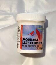 MORNING BIRD MORINGA LEAF POWDER 1 OZ NATURAL FOOD SUPPLEMENT. FREE SHIP TO USA