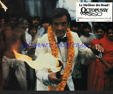 JAMES BOND OCTOPUSSY ORIG FRENCH PHOTO 1983 ROGER MOORE AS 007