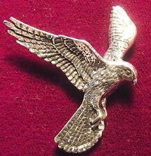 Peltre Falcon Kestrel cetrería Broche Pin De Aves De Presa